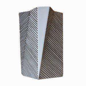 Futuristic Faience Vase Futura by Else Kamp for Bing & Grøndahl, 1970s