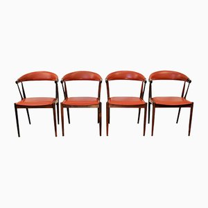 Vintage Palisander Dining Chairs by Johannes Andersen for Andersen Møbelfabrik, Set of 4