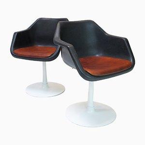 Overman Stühle von Robin & Lucienne Day für Hille, 1970er, 2er Set