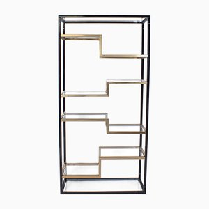 Vintage Gold Plated Room Divider from Belgo Chrom / Dewulf Selection