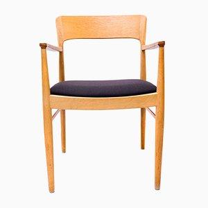 Danish Oak Armchair from Kai Kristiansen for Korup Stolefabrik, 1960s