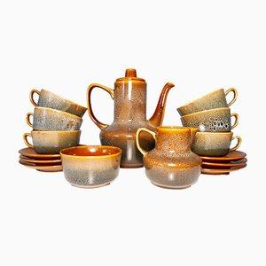 Set da tè Agat in porcellana di Adam Sadulski per Mirostowice, anni '60