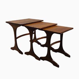 Tables Gigognes Fresco par Victor Wilkins pour G-Plan, 1960s
