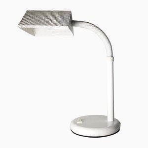 Lampe de Bureau en Métal Perforé Gris de Elco, Pays-Bas, 1970s