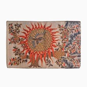 Vintage Aubusson Wandteppich von Michèle Ray für Robert Four Workshop