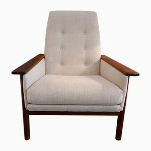 Dutch Rosewood Lounge Chair from TopForm, 1960s
