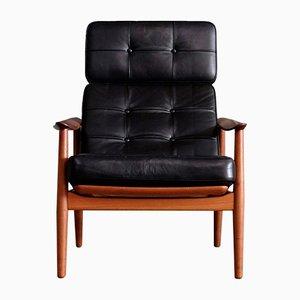 Model FD-164 Easy Chair by Arne Vodder for France & Son, 1960s
