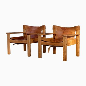 Natura Easy Chairs by Karin Mobring, 1970s, Set of 2