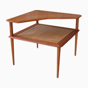Tavolo ad angolo Minerva di Peter Hvidt & Orla Mølgaard-Nielsen per France & Søn, anni '60