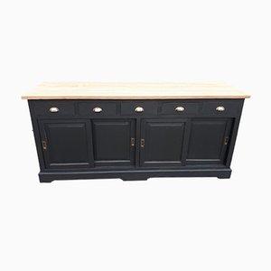 Industrial Sliding Door Cabinet, 1980s