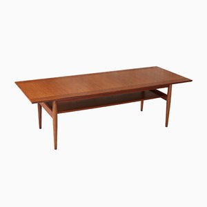 Teak Coffee Table Danish, 1960s
