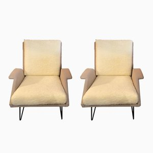 Confidence Armchairs by Louis Paolozzi, 1955, Set of 2