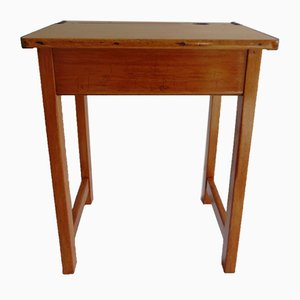 School Desk in Beech, 1970s