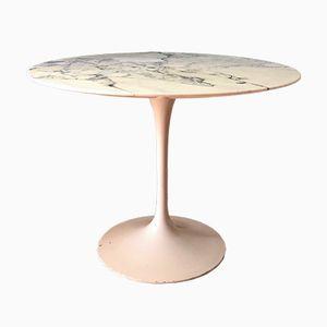 White Tulip Marble Table by Eero Saarinen for Knoll International, 1970s
