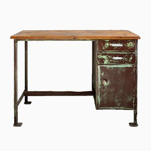 Vintage Industrial Desk, 1930s
