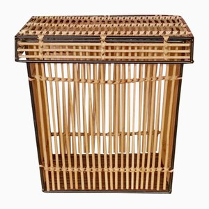 Rattan Basket from Rohé Noordwolde, 1960s