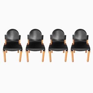 Chaises Flex 2000 par Gerd Lange pour Thonet, 1970s, Set de 4