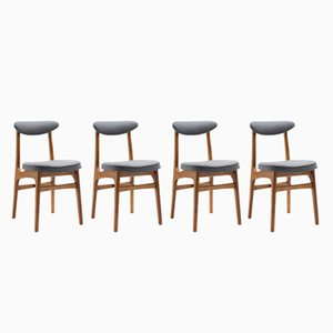 Vintage Typ 200-190 Stühle von R. T. Hałas für Gościcińska Fabryka Mebli, 4er Set