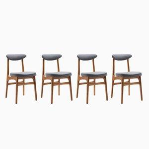Vintage Type 200-190 chairs by R. T. Hałas for Gościcińska Fabryka Mebli, Set of 4