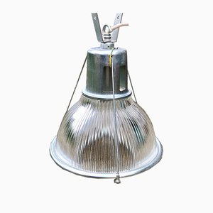 Vintage Industrial Ceiling Light from Holophane