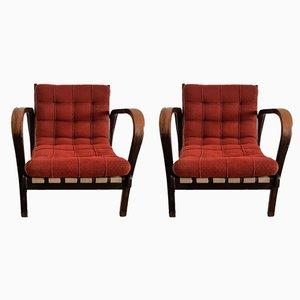 Vintage Sessel von Kozelka & Kropacek, 2er Set
