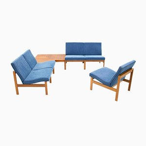 Modular Living Room Set by Ole Gjerløv-Knudsen & Torben Lind for France & Son, 1960s