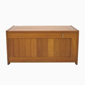 Teak Blanket Chest by O. Schjøll & B.K. Handest for Randers, 1960s