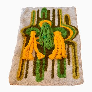 Spanish Handmade Rug, 1970s