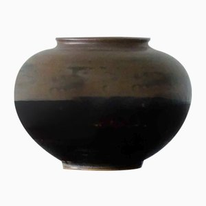 Scandinavian Stoneware Vase by Arne Bang for Royal Copenhagen, 1940s
