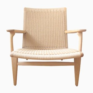Vintage CH25 Lounge Chair by Hans J. Wegner for Carl Hansen & Søn