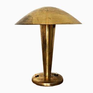 Tschechische Tischlampe aus Messing von Josef Hurka für Napako, 1930er
