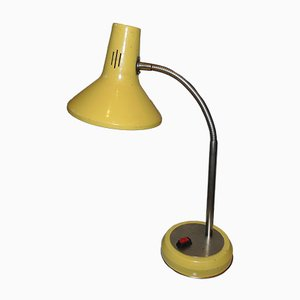 Polish Yellow Table Lamp, 1960s