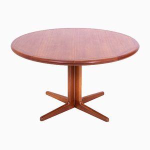 Danish Extending Teak Dining Table, 1960s