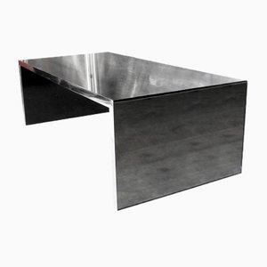 Niedriger verspiegelter Four Corners Tisch von Nanda Vigo für Driade, 1970er