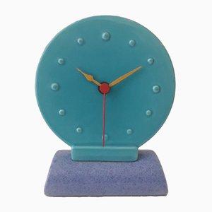 Uhr im Memphis Stil von Elma Lisowski Choung für Bitossi, 1980er