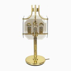 Lámpara de mesa grande de Luigi Colani para Sische, años 80