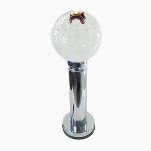 Lámpara de mesa italiana de Mazzega, años 70