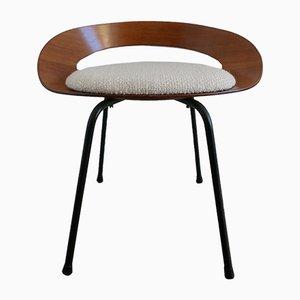 Italienischer Stuhl aus Schichtholz von Luciano Nustrini für Poltronova, 1957