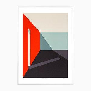 Structure 02 Siebdruck von Archidreamer, 2018