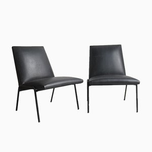 Robert Lounge Chairs by Pierre Guariche for Meurop, 1960s, Set of 2