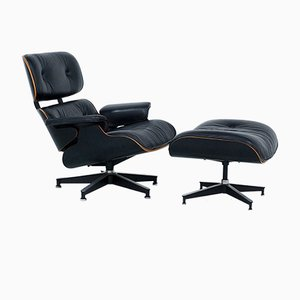 Lounge Chair & Ottoman by Charles & Ray Eames for Herman Miller, 1981