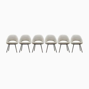 Chefsessel von Eero Saarinen für Knoll International, 1950er, 6er Set