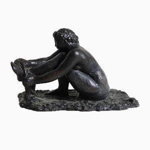 Estatua de bronce de Gerhard Henning