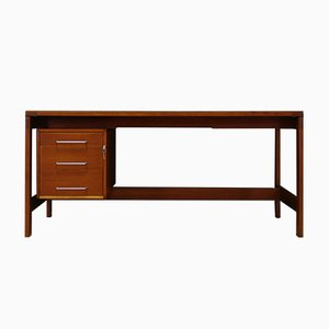 Danish Mahogany Writing Desk by Henning Jensen and Torben Valeur, 1960s