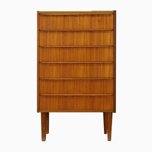Danish Teak Chest of Drawers, 1960s