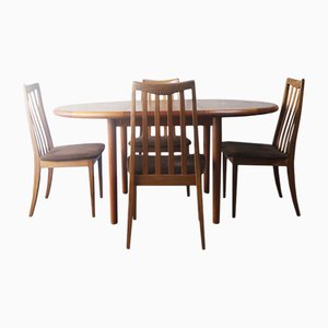 Danish Teak Dining Set from G-Plan, 1970s