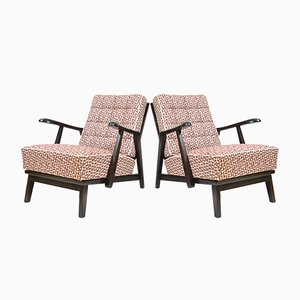 Lounge Chairs from Krasná Jizba, 1940s, Set of 2