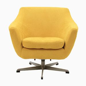 Czechoslovakian Swivel Chair, 1970s