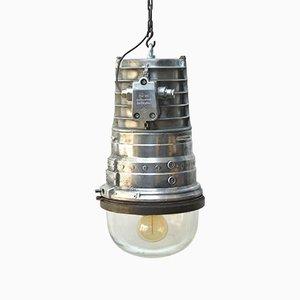 Lampe Anti Déflagration de l'Industrie Chimique Vintage