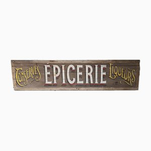 Insegna Epicerie vintage, Francia